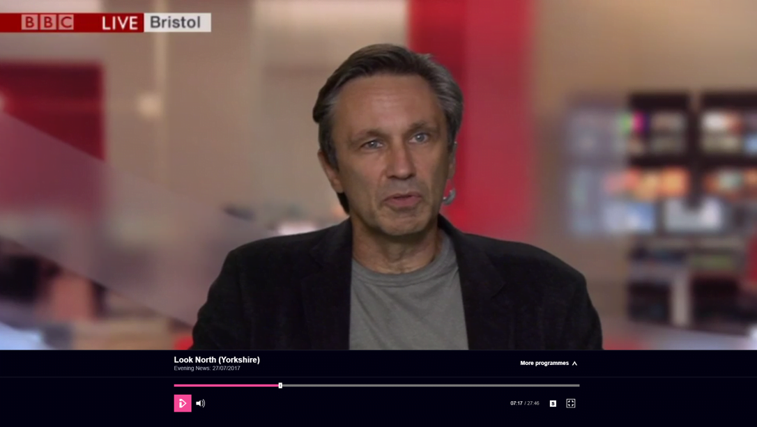 Dom on BBC Look North