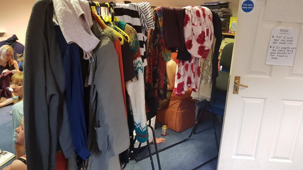 charity, clothes swap, reuse, recycle, circular economy, clothes
